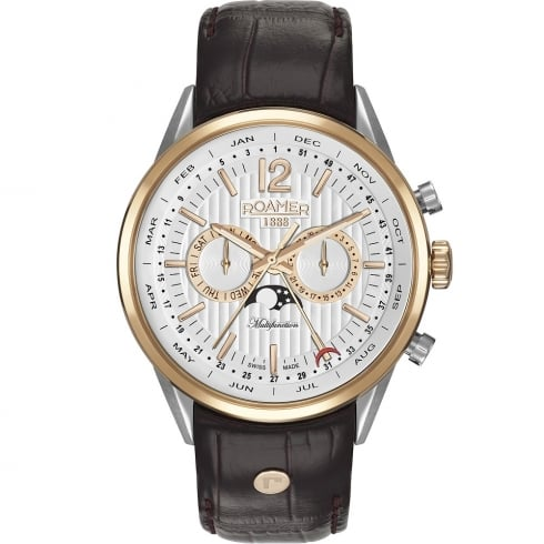 Roamer Superior Business Moonphase Multi Function Gents Watch 508822 49 14 05