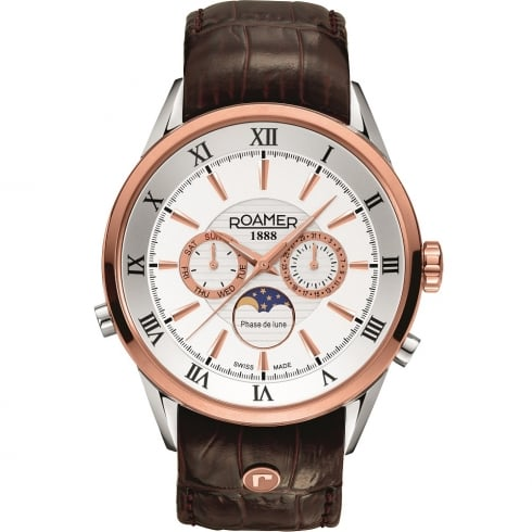Roamer Superior Moonphase Gents Watch 508821 49 13 05