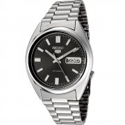 Seiko 5 Automatic Black Dial Stainless Steel Bracelet Gents Watch SNXS79K
