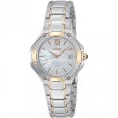Seiko Coutura white dial stainless steel bracelet Ladies watch SXDA76P1