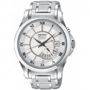 Seiko Premier Kinetic Chronograph Stainless Steel Bracelet Gents Watch SRN001P1