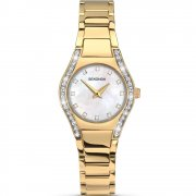 Sekonda Aurora White Dial Gold Bracelet Ladies Watch 2239