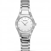 Sekonda Aurora White Dial Stainless Steel Bracelet Ladies Watch 2199