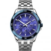 Sekonda Blue Dial Stainless Steel Bracelet Gents Watch 1391