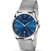 Sekonda Blue Dial Stainless Steel Mesh Bracelet Gents Watch 1065