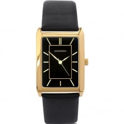 Sekonda Classic Black Dial Black Strap Gents Watch 3284