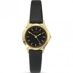 Sekonda Classic Black Dial Black Strap Ladies Watch 4141