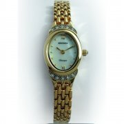 Sekonda Classic White Dial Gold Bracelet Ladies Watch 4839