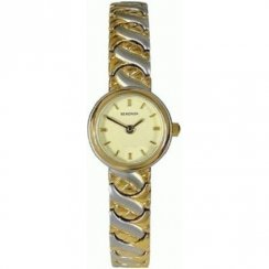 Sekonda  cream dial stainless steel bracelet Ladies watch 4598