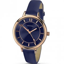 Sekonda Editions Blue Dial Blue Strap Ladies Watch 2136