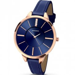 Sekonda Editions Blue Dial Blue Strap Ladies Watch 2144