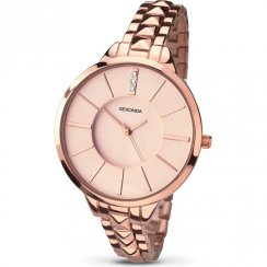 Sekonda Editions Rose Gold Dial Stainless Steel Bracelet Ladies Watch 2015