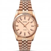 Sekonda Editions Rose Gold Dial Stainless Steel Bracelet Ladies Watch 2068