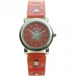 Sekonda Football Red Dial Red Resin Strap Kids Watch 4723