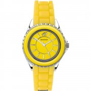 Sekonda Party Time yellow dial rubber strap Ladies watch 4595