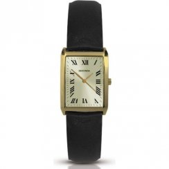 Sekonda Classic Champagne Dial Black Strap Ladies Watch 4225