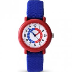 Sekonda Time Teacher White Dial Blue Fabric Strap Kids Watch 4629