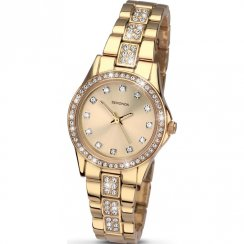 Sekonda Starfall gold dial stainless steel bracelet Ladies watch 2020