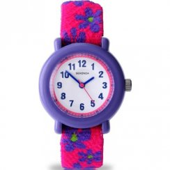 Sekonda Time Teacher white dial fabric strap Kids watch 4627