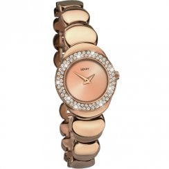 Seksy Sapphire Rose Gold Dial and Bracelet Ladies Watch 2499