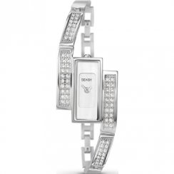 Seksy Sparkle silver dial stainless steel bracelet Ladies watch 4883