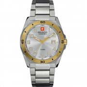 Swiss Military Guardian silver dial stainless steel bracelet Mens watch 6-5190.55.001