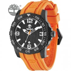 Timberland Sandown black dial rubber strap Mens watch 13613JSB-02