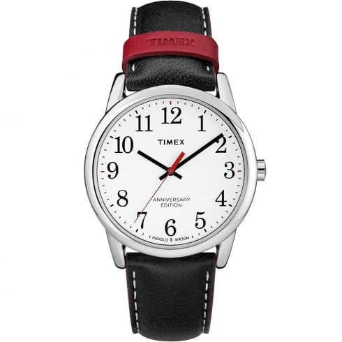 Timex Classic Anniversary Edition Black Strap Gents Watch TW2R40000