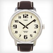 Timex Classic Cream Dial Brown Leather Strap Gents Watch T28201