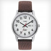 Timex Classic White Dial Brown Leather Strap Mens Watch T20041