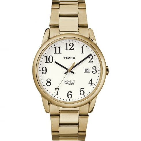 Timex Classic White Dial Gold Bracelet Gents Watch TW2R23600
