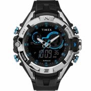 Timex Dual Display Digital Chronograph Resin Strap Gents Watch TW5M23000