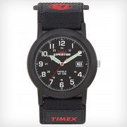 Timex Expedition black dial fabric strap Mens watch T40011