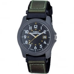 Timex Expedition Black Dial Fabric Strap Mens Watch T42571