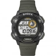 Timex Expedition Digital Chronograph Khaki Resin Strap Gents Watch T49975