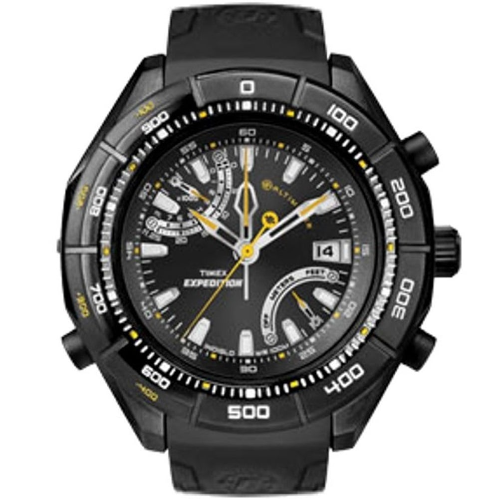 4ae72ecdc Timex Expedition E-Altimeter Black Resin Strap Gents Watch T49795