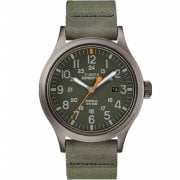 Timex Expedition Scout Green Dial Green Nylon Strap Gents Watch TW4B14000