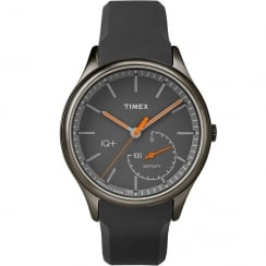 Timex IQ + Move Smartwatch Grey Dial Resin Strap Gents Watch TW2P95000