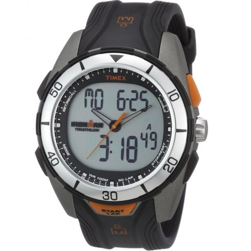 Timex Ironman Dual Display Chronograph 50 LAP Memory  Gents Watch T5K402
