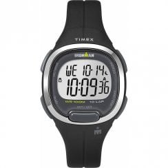 Timex Ironman Transit Digital 10 LAP Black Resin Strap Mid Size Watch TW5M19600