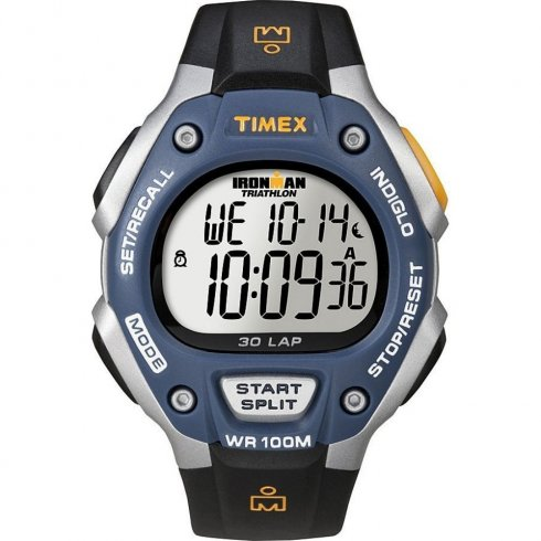 Timex Ironman Triathlon Digital Chronograph 30 LAPS Mens Watch T5E931
