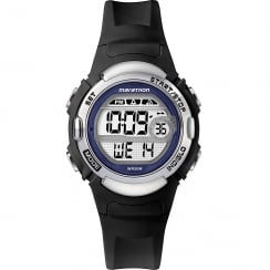 Timex Marathon Digital Alarm Chronograph Black Resin Strap Ladies Watch TW5M14300