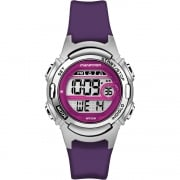 Timex Marathon Digital Alarm Chronograph Purple Resin Strap Ladies Watch TW5M11100
