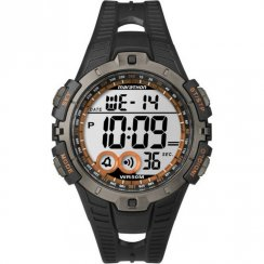 Timex Marathon Digital Chronograph Black Resin Strap Gents Watch T5K801