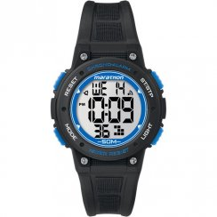 Timex Marathon Digital Chronograph Black Resin Strap Kids Watch TW5K84800