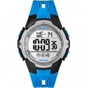 Timex Marathon Digital Chronograph Blue Resin Strap Gents Watch TW5M06900