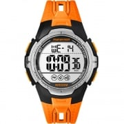 Timex Marathon Digital Chronograph Orange Resin Strap Gents Watch TW5M06800