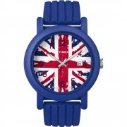 Timex Originals Union Jack Dial Blue Resin Strap Unisex Watch T2N797
