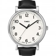 Timex Originals white dial leather strap Mens watch T2N338
