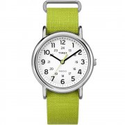 Timex Weekender white dial nylon strap Mens watch TW2P65900
